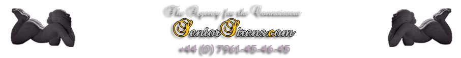 Senior Sirens, mature companion agency logo